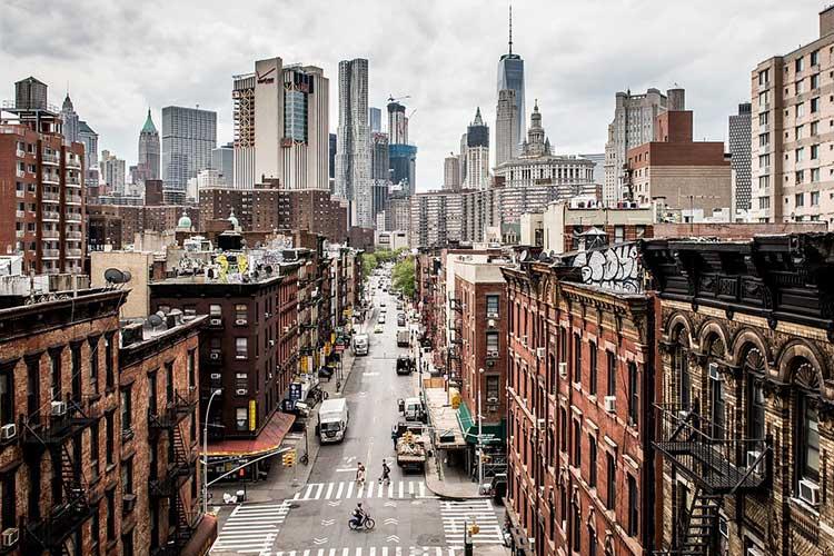 New York, China Town