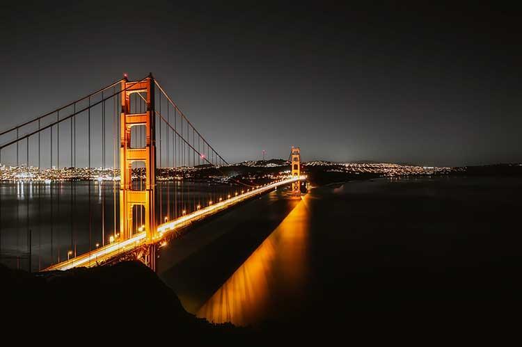 San Francisko, Golden Gate bridge