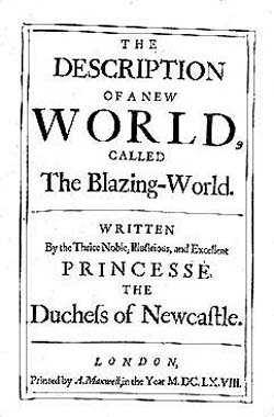 The Description of a New World, Called the Blazing World