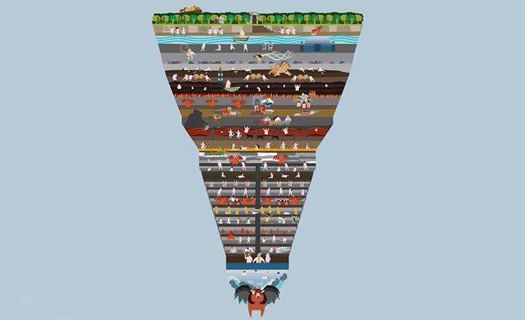 Danteov Pakao Ilustrovana I Interaktivna Verzija
