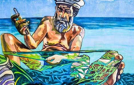 ribara starog kći laguna knjige