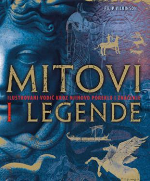 Slikovni rezultat za mitovi i legende knjiga